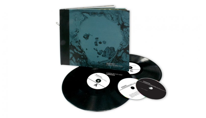 """A Moon Shaped Pool"" by Radiohead - Autographed Special Limited Edition Box"