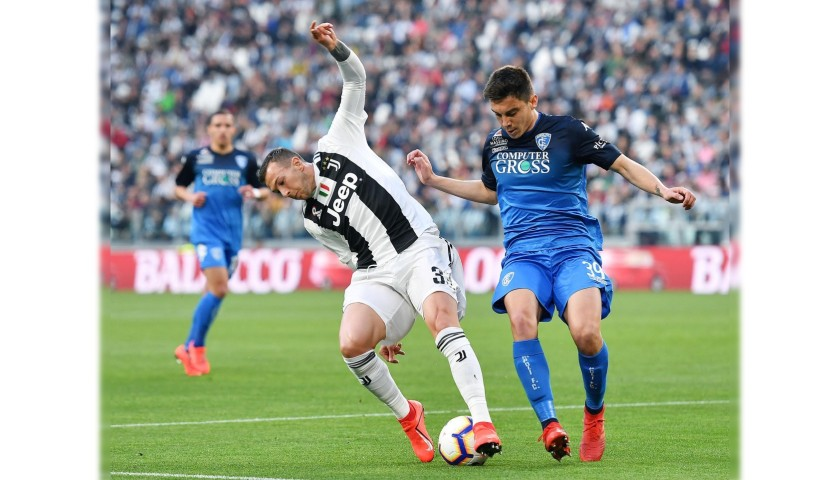Bernardeschi's Worn and Unwashed Shirt, Juventus-Empoli 2019