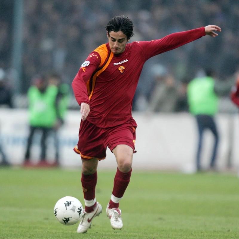 Aquilani's Roma-Parma Signed Match Shirt, 2005