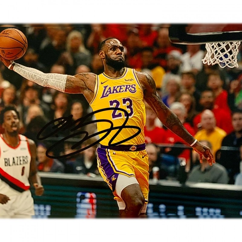 Photograph Signed by Lebron James
