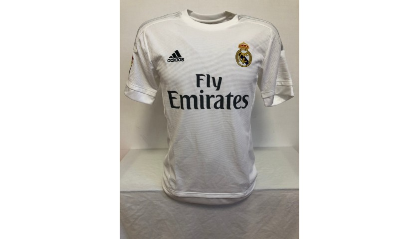 Ronaldo's Official Real Madrid Signed Shirt, 2015/16
