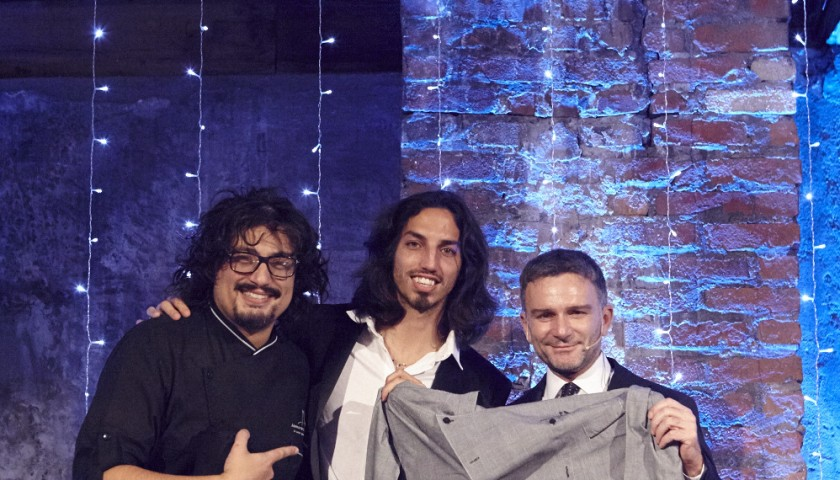 Alessandro Borghese's apron - Gala Dinner 10 years Make-A-Wish