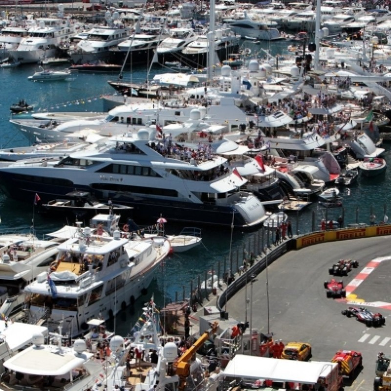 Monaco Grand Prix Super-Yacht Experience for Two People