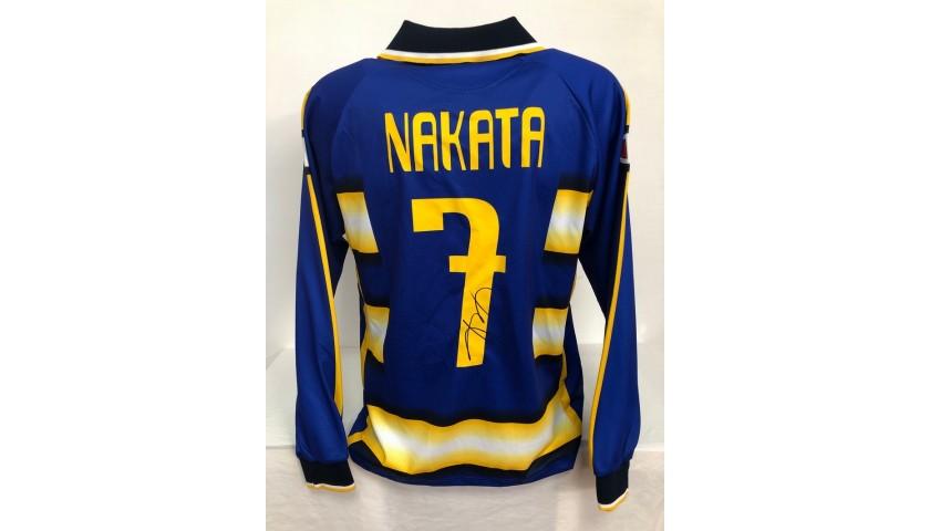 Maglia Gara Nakata Parma, 2003/04 - Autografata