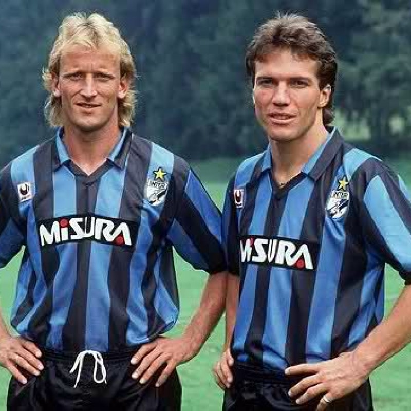 Brehme's Match-Issued/Worn 1988/89 Inter Shirt