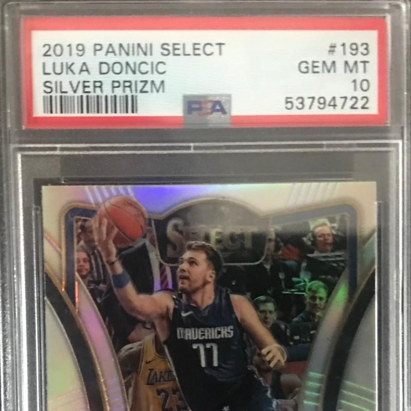 2019 PSA Panini Select Luka Dončić NBA Card