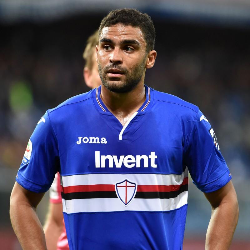 Defrel's Sampdoria Match-Issue and Signed Shirt, 2018/19