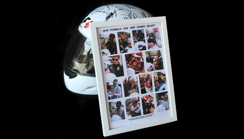 Signed 2016 F1 Helmet