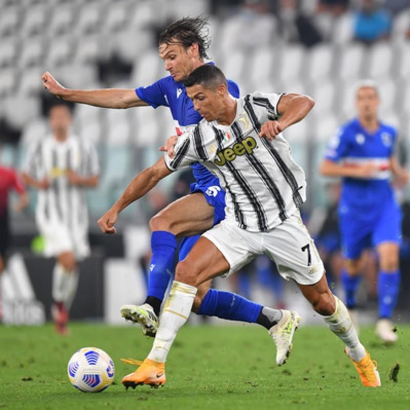 Ronaldo's Official Juventus Signed Shorts, 2020/21