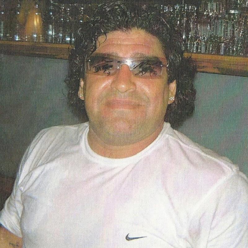 Maradona's Worn and Signed Sunglasses