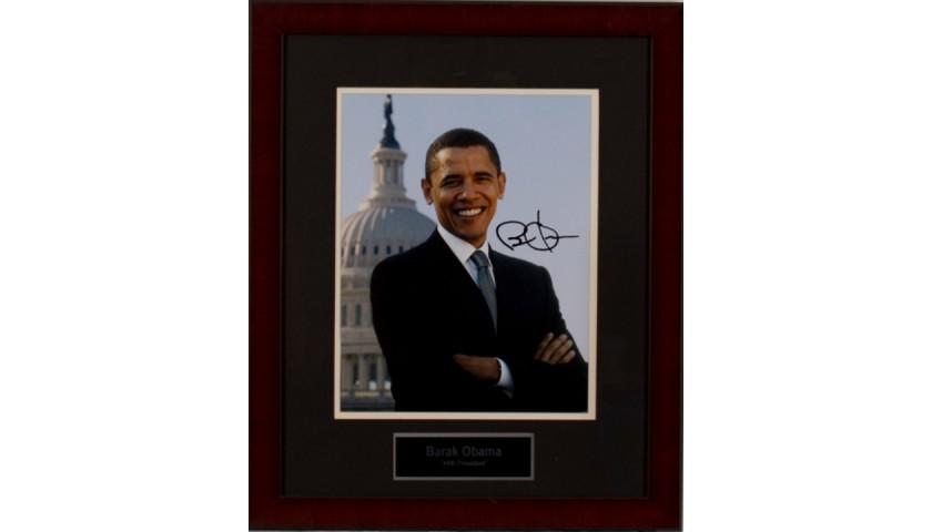 Signed Photo of President Barack Obama