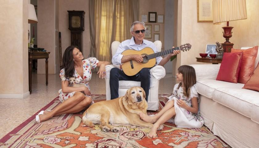 Andrea Bocelli's Guitar