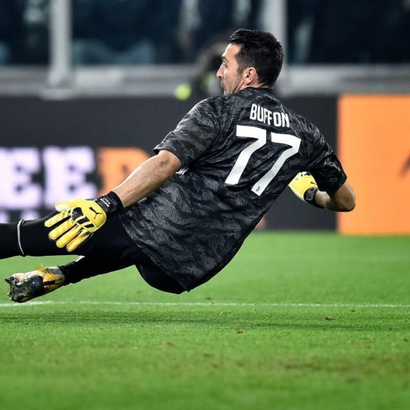 Maglia Ufficiale Buffon Juventus, 2019/20 - Autografata
