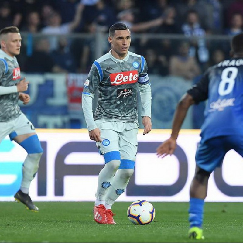 Callejon's Napoli Worn and Signed Shorts, 2018/19