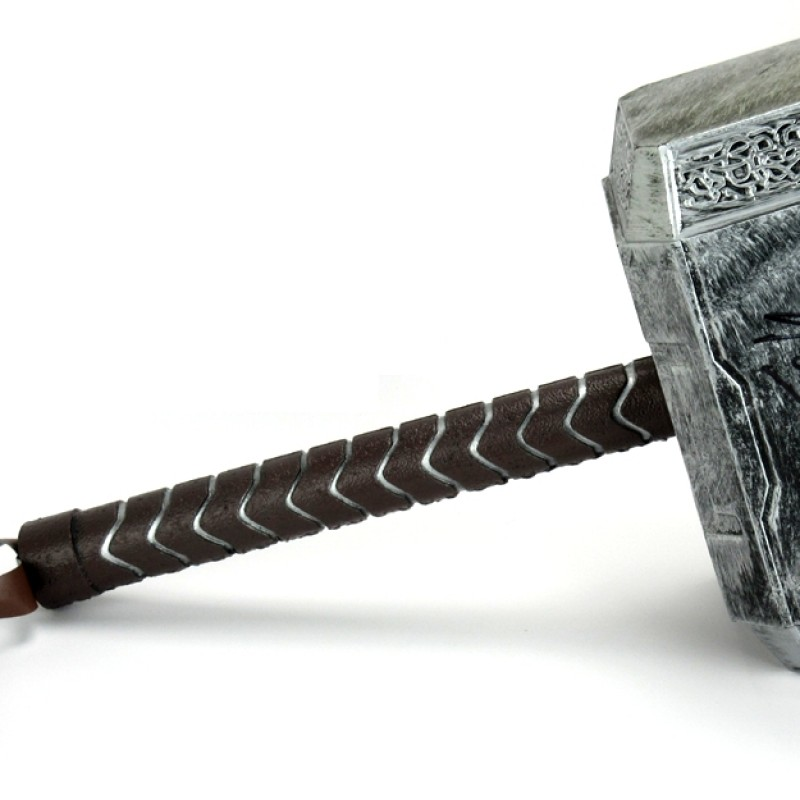 Official Marvel Thor Hammer Signed by Stan Lee, the Godfather of Comics