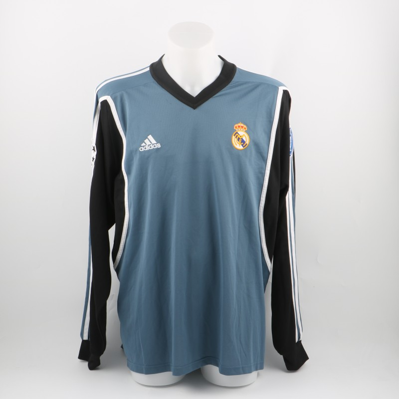 Figo match issued/worn shirt, Real Madrid Champions League 2001/2002