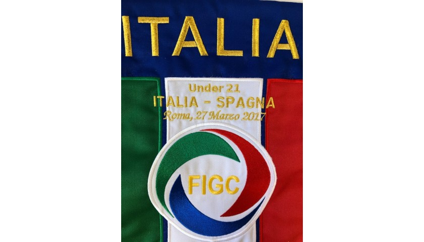 Official Pennant Italy-Spain 2017
