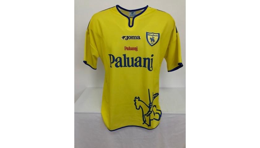 Corini's Chievo Verona Signed Match Shirt, 2001/02