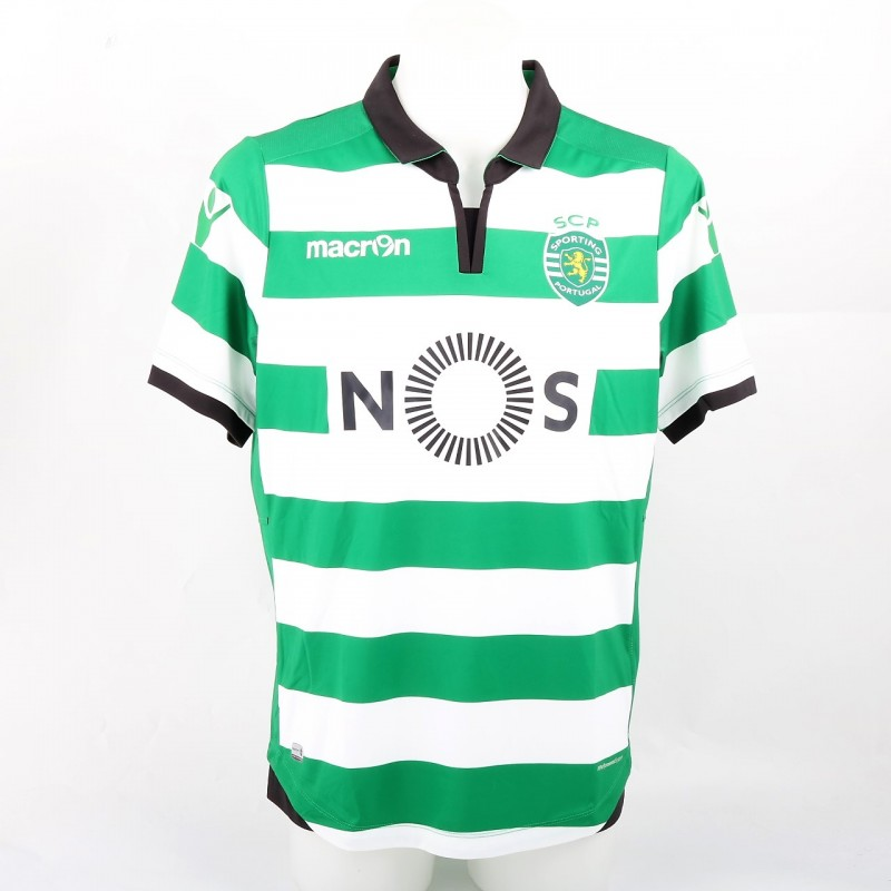 Oliveira Official Sporting CP Shirt, 2016/17 - Signed