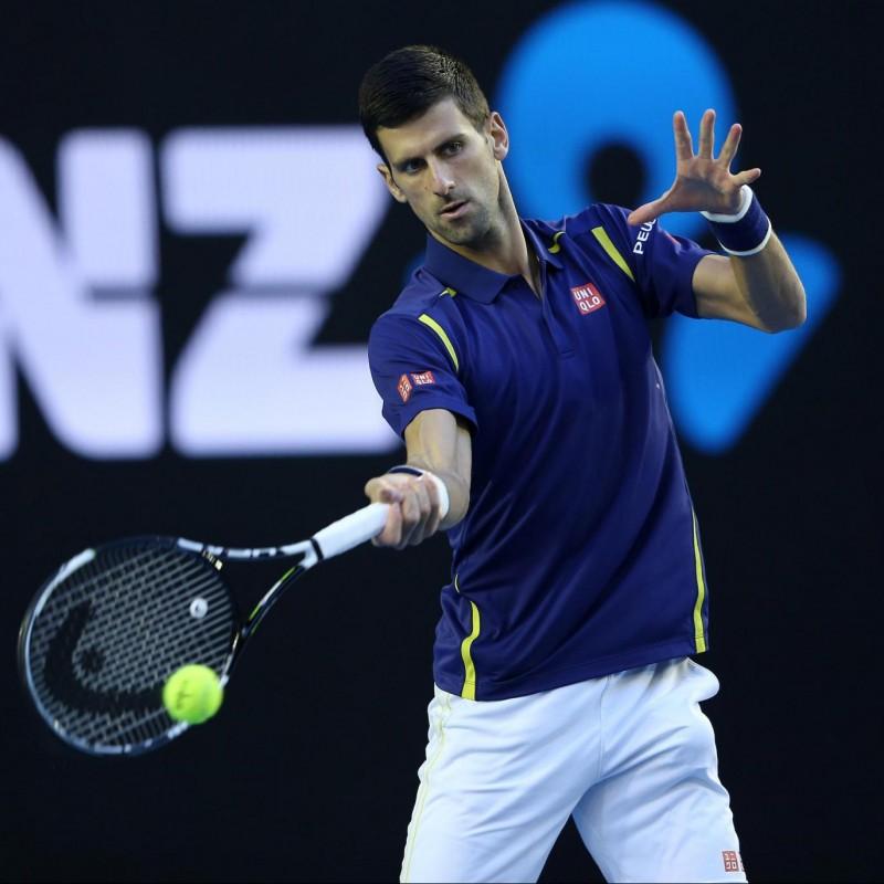 Djokovic's Worn Match Shirt, Australian Open 2016 Semi-Final