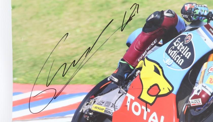 Marc VDS Team Poster Signed by Franco Morbidelli