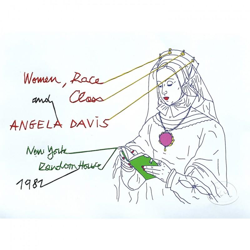 """Women, Race and Class, Angela Davis, Random House, New York, 1981"" by Coquelicot Mafille"