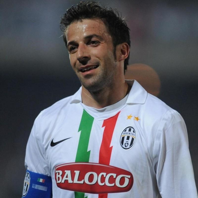 Del Piero's Juventus Match Shirt, 2010/11