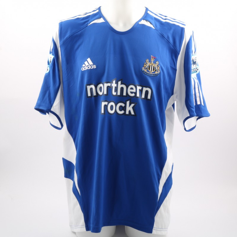 Shearer's Newcastle Worn Premier League 2005/06 Shirt