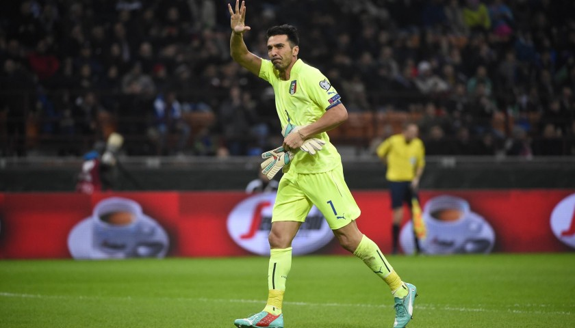 Buffon's Match Shirt, Italy-Malta 2015