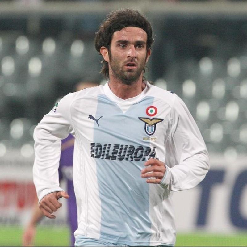 Del Nero's Lazio Match Shorts, 2009/10 110 Years