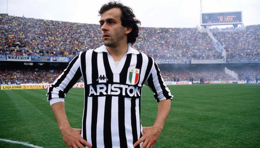 Platini's Serie A 1984/85 Match-Worn Shirt