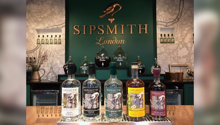 Sipsmith Distillery Tour and Gin Tasting for 2