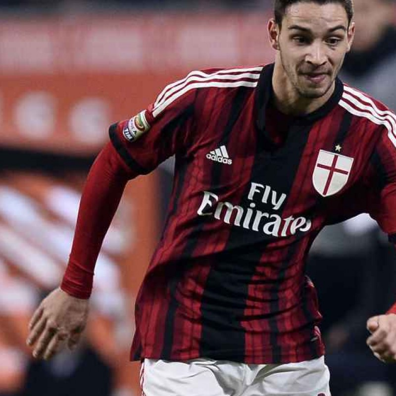 De Sciglio match worn shirt, Serie A 2014/2015, 2