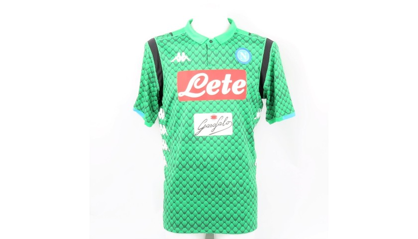Meret's Napoli Worn and Signed Shirt, 2018/19