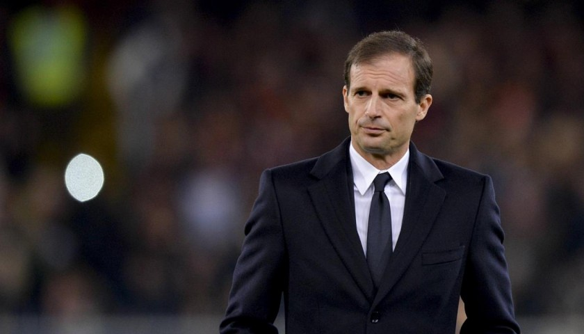 A Dinner with the Juventus coach: Massimiliano Allegri LAST TWO SEATS