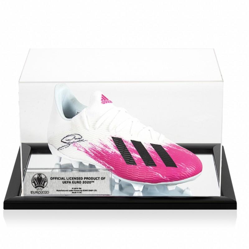 Wijnaldum's Adidas Signed Boot - Official UEFA EURO 2020