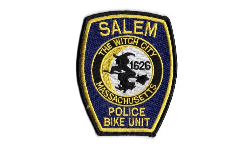 """Salem """"The Witch City"""" - Official Police Patch"""