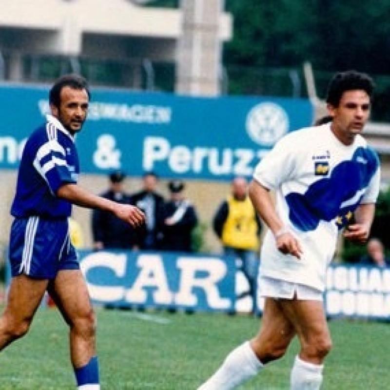 Donadoni's Worn and Signed Shirt, Empoli-Italy 1992
