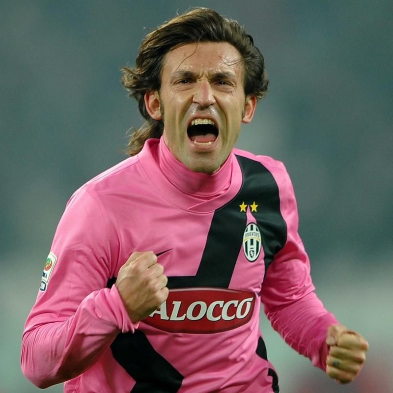 Pirlo's Juventus Match-Issued Shirt, 2011/12