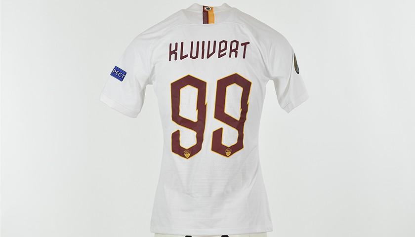 Kluivert's Worn Shirt, Gladbach-Roma 19/20