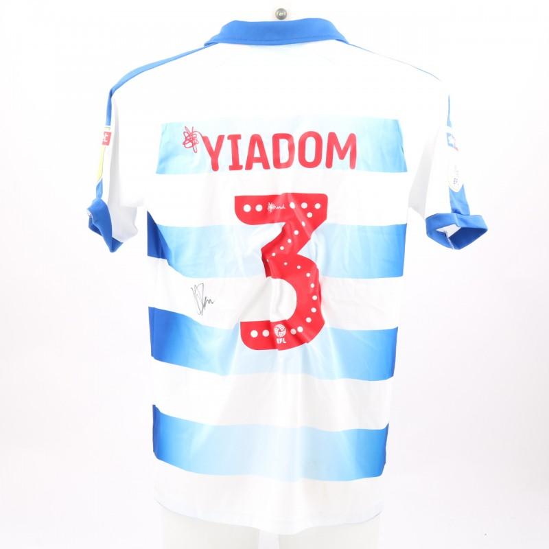 Yiadom's Match-Worn Reading FC Signed Poppy Home Shirt