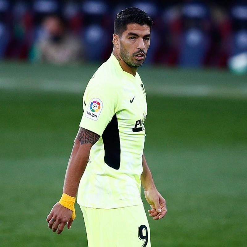 Suarez's Match Shirt, Huesca-Atletico Madrid 2020