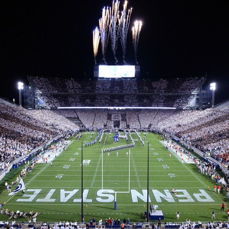 Penn State Game at Beaver Stadium: 4 Tickets, Hotel, and Airfare
