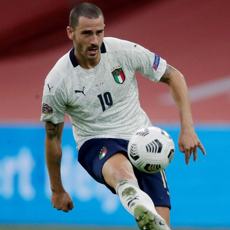 Bonucci's Match Shirt, Holland-Italy 2020
