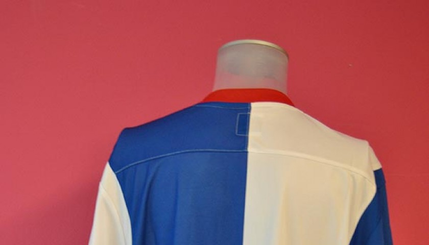Blackburn Rovers Football League 2012/2013 autographed shirt