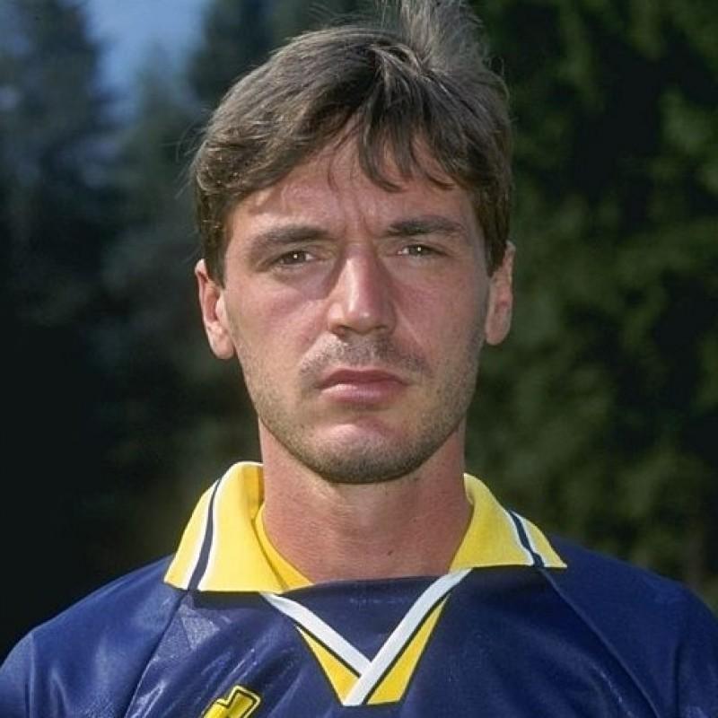 Fattori's Hellas Verona Match-Issued Signed Shirt, 1995/96