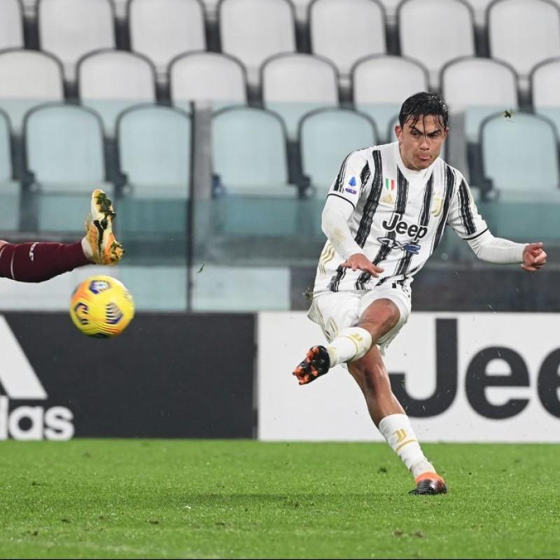 Dybala's Signed Match Shirt, Juventus-Torino 2020