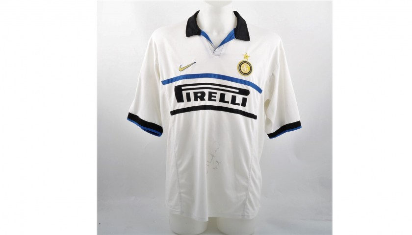 hot sale online 5052a 5d760 Ronaldo's Match-Issued/Worn Shirt, 1998/99 - Signed - CharityStars