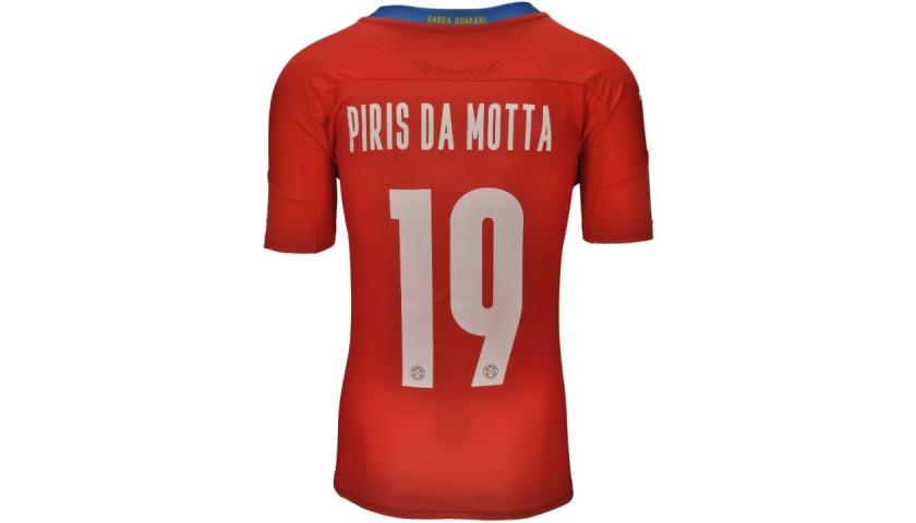 Piris Da Motta's Paraguay Match Shirt, WC Qualifiers 2022