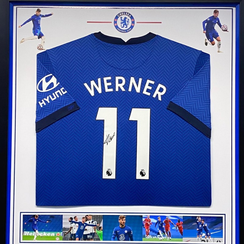 Chelsea FC Shirt Signed by Timo Werner